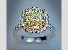 5.37 Carat Fancy Color Diamond Engagement Ring   Antique