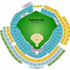 Washington Nats Stadium Seating Chart Nationals Park Seating Chart Views And Reviews