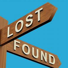 Lost And Found Sign Depression Lost And Foundpick The Brain Motivation And