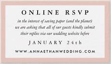 Online Wedding Rsvps Online Rsvps Amp Wedding Websites How Does This Work