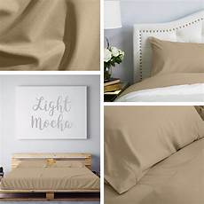 light mocha sheet set in 2020 sheet sets flat sheets