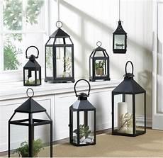 Contemporary Lantern Lighting Large Contemporary Candle Lantern Iron Amp Glass Lighting