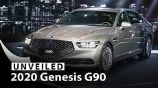 2020 genesis g90 2020 genesis g90 flagship sedan unveiled styled for
