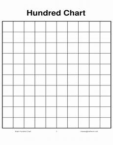 100 Board Chart Blank Hundred Chart Free Download