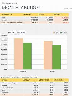 Monthly Business Budget Monthly Business Budget Excel Business Insights Group Ag