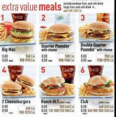 How Effective Is Calorie Information On Fast Food Menus