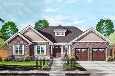 Storey Floor Plans Step Saving One Story Craftsman Home Plan 39288st