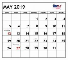 Printable May 2020 Calendar With Holidays May 2019 Calendar With Holidays Us Uk Canada India