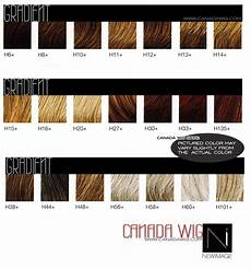 Wigs Color Chart Wig Color Charts