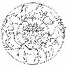 Malvorlagen Mandalas Pferde Konabeun Zum Ausdrucken Ausmalbilder Mandala Pferde 20632