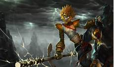 Malvorlagen Lol Wukong Fanart For League Of Legends Chion Wukong The Monkey