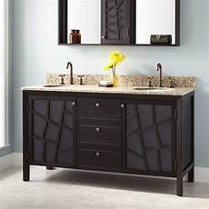 60 quot louise vanity for undermount sinks brown
