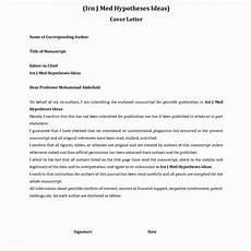 Cover Letter To Journal Editor 27 Cover Letter For Journal Cover Letter