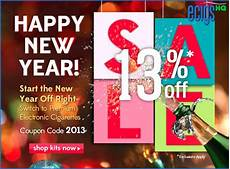 New Year Coupons Ecigs Hq Green Smoke New Year S Discounts