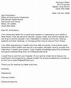Cover Letter Mental Health Worker Nurse Case Manager Cover Letter Nursing Sample Cover