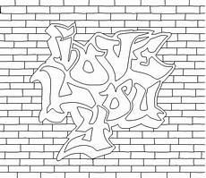 Graffiti Malvorlagen Word Graffiti Word Coloring Pages Free Coloring Pages Of Word
