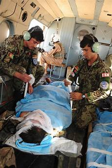 Air Force Flight Medics Afghan Air Force Flight Medics Provide Medical Care Boost