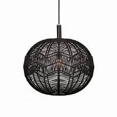 Black Rattan Ceiling Light Black Rattan Rope Ceiling Pendant Designer Lighting Uk