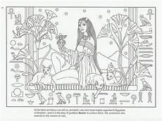 Malvorlagen Jugendstil Classic Bastet Goddess Malbuch Vorlagen Malvorlagen