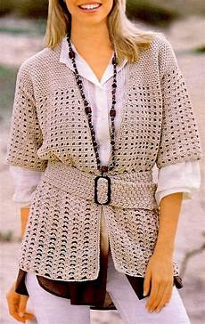crochet cardigan pattern casual crochet jacket casual