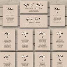 Template For Wedding Table Plan Wedding Seating Chart Template Printable Seating Chart