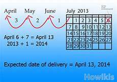 Estimated Date Of Delivery Chart Calculate Your Expected Date Of Delivery For