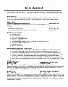Entry Level Science Resumes Entry Level Environmental Scientist Resume