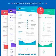 Cv Psd Template Free Download Free Resume Cv Template Free Psd Download Psd