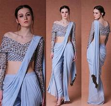 Dhoti Saree Design Dhoti Style Western Dresses For Girl Saree Look