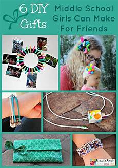 6 diy gifts middle school can make for friends