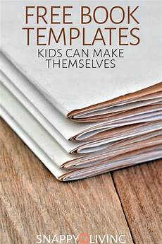 Free Books Template Free Book Templates Kids Can Make Themselves Snappy Living