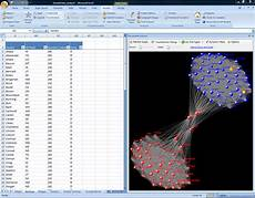 Microsoft Excel Charts And Graphs Nodexl Network Overview Discovery And Exploration In