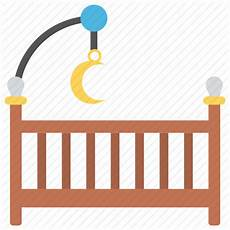 baby bed baby cot baby crib baby room nursery room icon