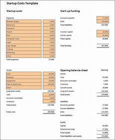 Start Up Cost For Business Start Up Costs Calculator Template Start Up Business