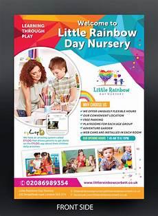 Child Care Flyer Design Elegant Playful Childcare Flyer Design For A Company By
