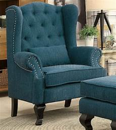teal accent chairs willow accent chair cm ac6271tl in teal w optional ottoman