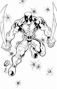 Malvorlagen Comic Con Deadpool Ausmalbilder 05 Dfdfsgdfg Ausmalen