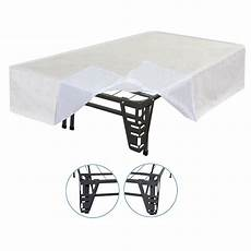 sleep master 4 bracket set and bed skirt for
