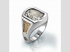 Men's Meteorite Ring   Jewelry Designs