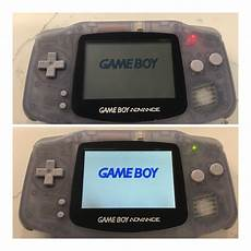 Gameboy Advance Light Just Did A Gba Backlit Screen Mod 40 On Ebay Retrogaming