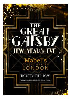 Great Flyers Ra The Great Gatsby New Years House At Mabels