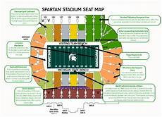University Of Michigan Big House Seating Chart Judgmental Maps Of The Important B1g 10 Stadiums