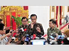 Jokowi Tanggapi Wabah Virus Corona: Semoga Seterusnya