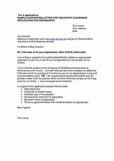 Example Letter Cover Letter Sample For Uk Visa Application Free Online