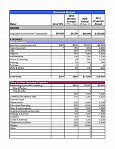 Small Business Budget Worksheet Example Of Business Budget Spreadsheet Db Excel Com