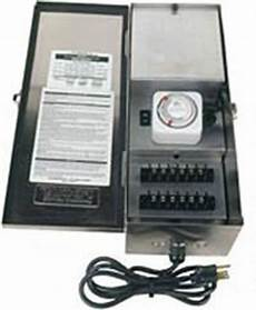 Alliance Lighting Transformer Focus Lighting 600w Twin Circuit Weatherproof