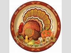Give Thanks Thanksgiving Dinner Plates   Thanksgiving Supplies