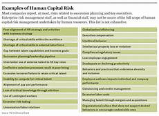 Human Resource Risk Management Risk And Hr Managers No Talking