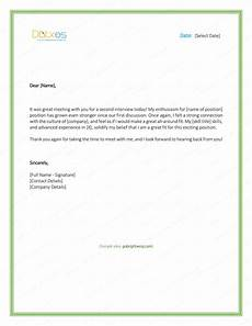 Thanks After Interview Sample Thank You Letter After Interview 5 Plus Best