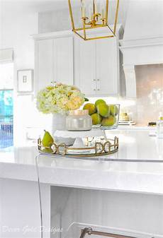 kitchen countertop decor ideas ideas for kitchen counter styling decor gold designs